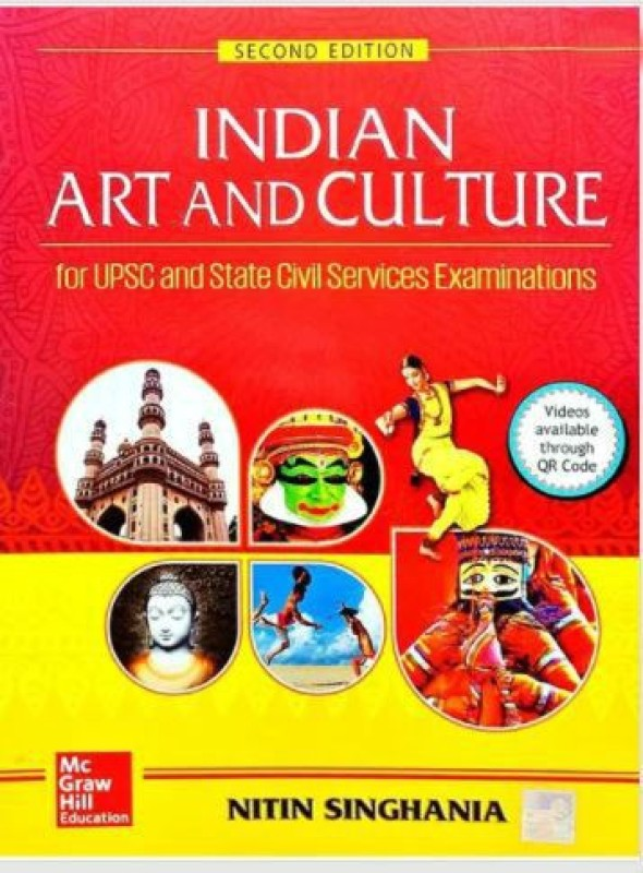Indian Art and Culture : For Civil Services Preliminary and Main Examinations Second Edition(English, Paperback, Nitin Singhania)