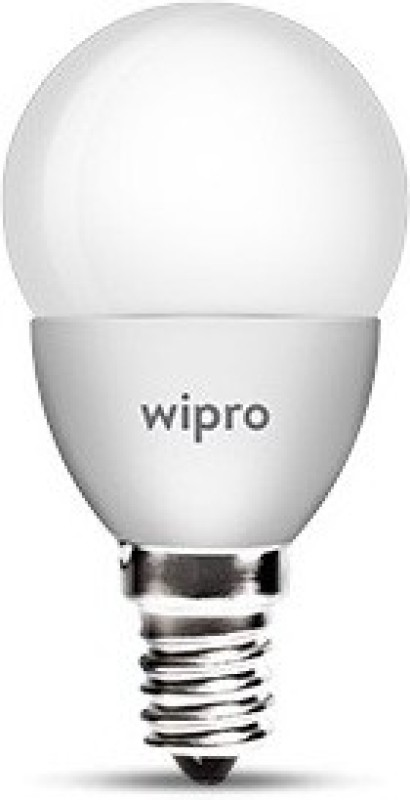 Wipro 3 W Standard E14 LED Bulb(Yellow)