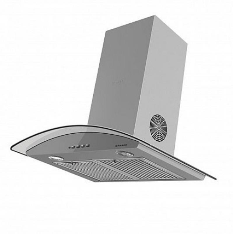 faber HOOD FEEL 3D T2S2 LTW 60 Wall Mounted Chimney(Grey 1095)