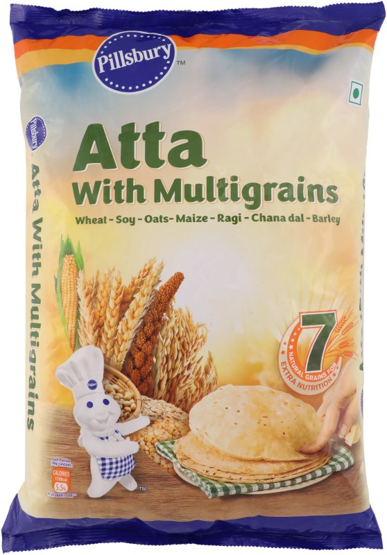 Pillsbury Atta with Multigrains(5 kg)