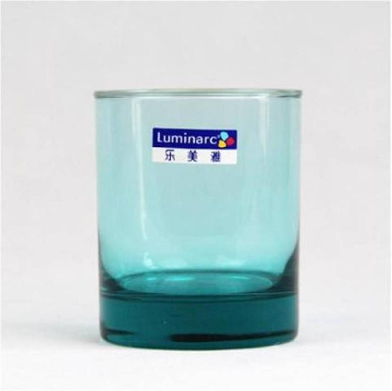 LUMINARC Glass Set(220 ml, Green, Pack of 6)