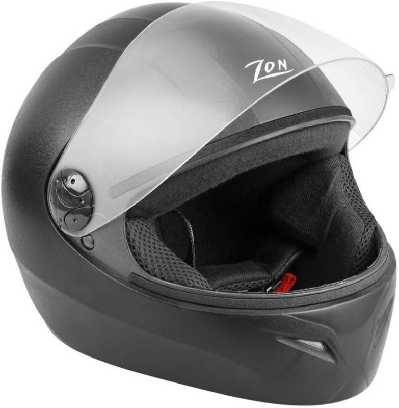 Steelbird Zon Classic Motorbike Helmet (Black) Motorbike Helmet(Black)