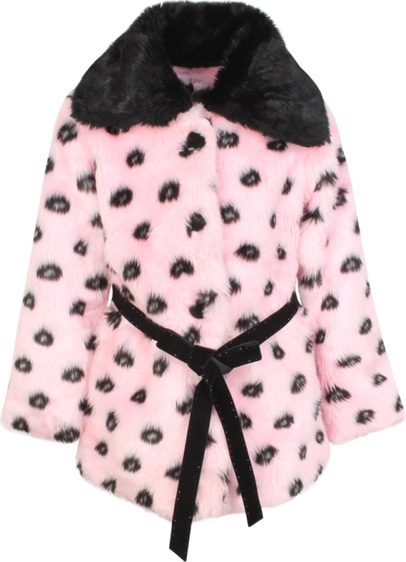 Cutecumber Full Sleeve Animal Print Girls Jacket