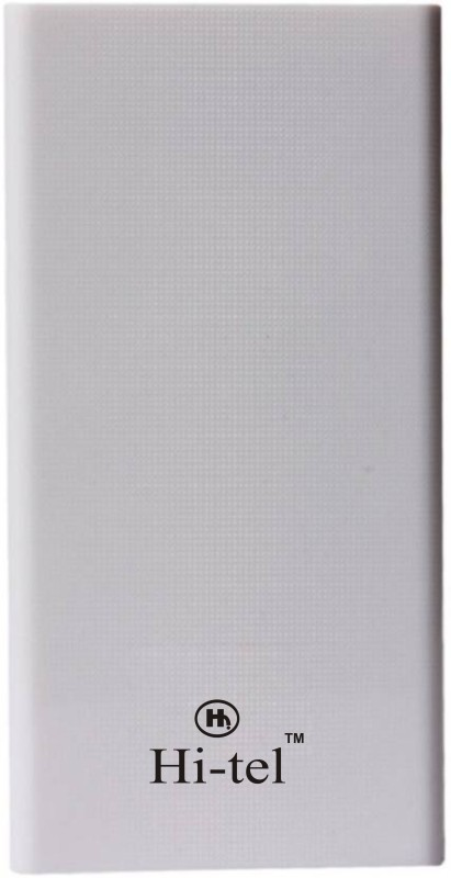 Hi-tel 20000 mAh Power Bank (Hi-6 2USB, HI 6)(White, Lithium-ion)