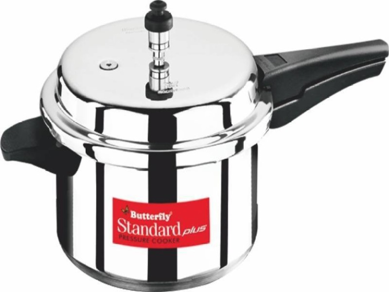 Butterfly STANDARD PLUS 12 L Pressure Cooker with Induction Bottom(Aluminium)