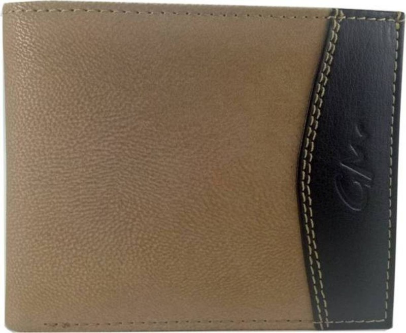 Gentleman Boys Brown Artificial Leather Wallet(7 Card Slots)