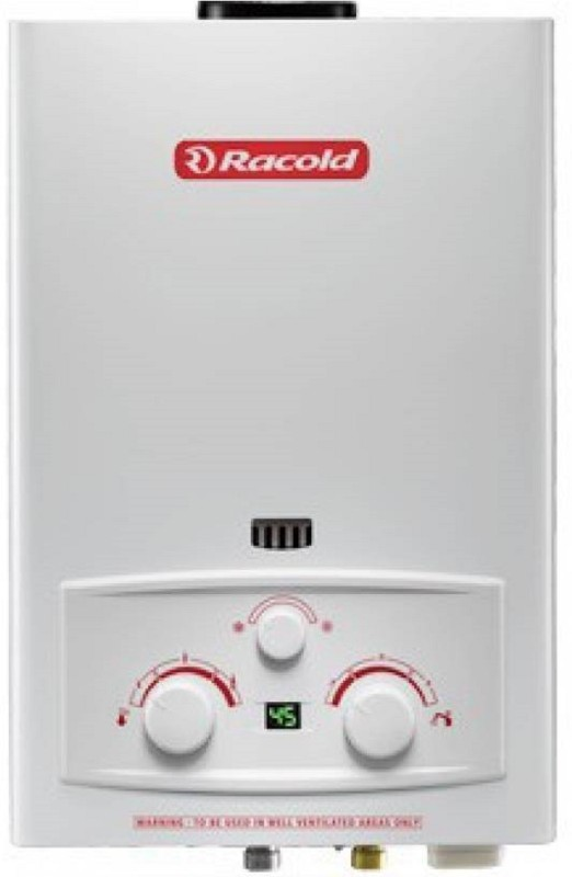Racold 5 L Gas Water Geyser(White, LPG LED (5 LTR))