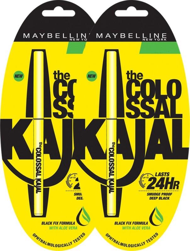 Maybelline New York Colossal Kajal 0.7 g(Black)