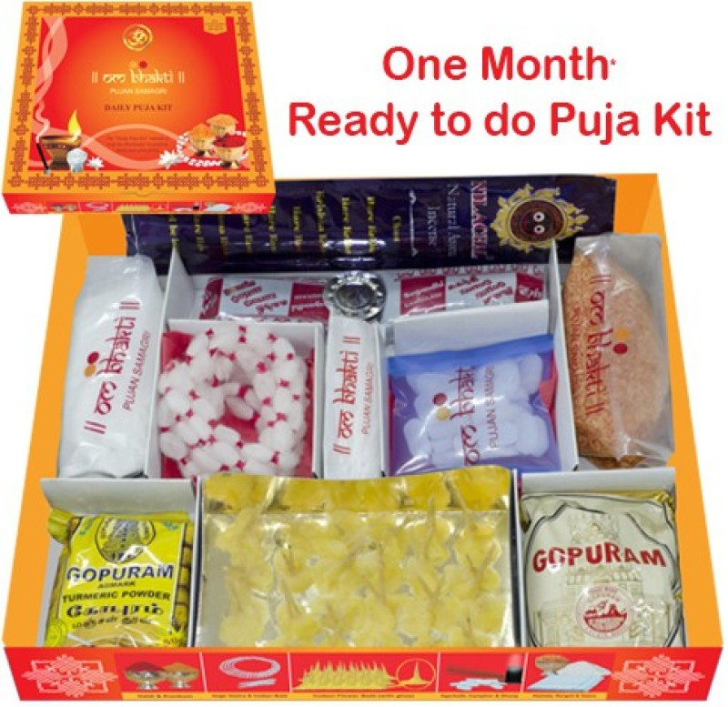 Om Bhakti Daily Puja Prayer Kit