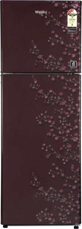 Whirlpool 265 L Frost Free Double Door 3 Star Refrigerator(Wine Gloria, NEO SP 278 PRM Wine Gloria (3S))