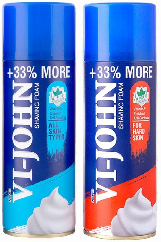 Vi-John Shave Foam All Type & Hard Skin(800 g)