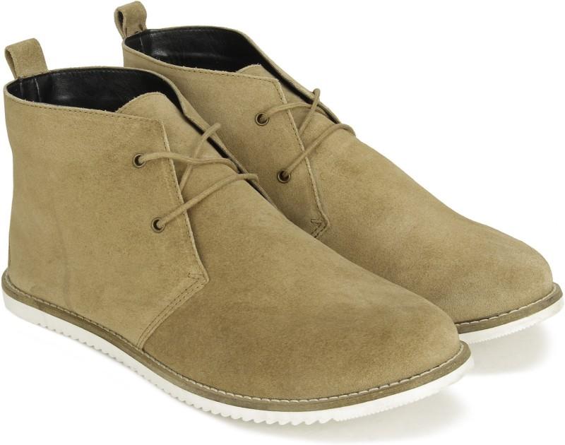Carlton London CLL-3526 Boots For Women(Tan)