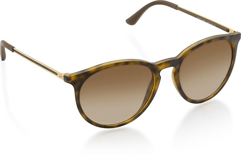 Ray-Ban Round Sunglasses(Brown)