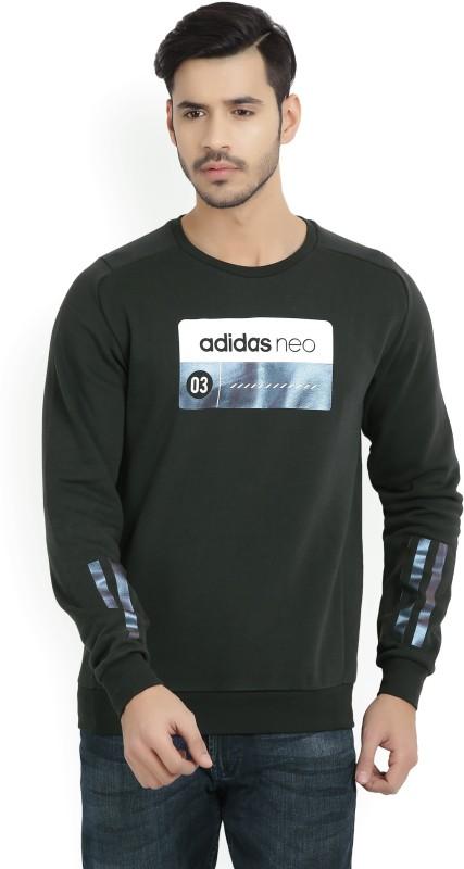 ADIDAS NEO Full Sleeve Printed Mens Sweatshirt