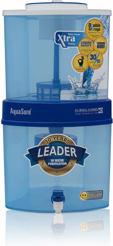 Eureka Forbes Aquasure Xtra Tuff 15 L Gravity Based Water...