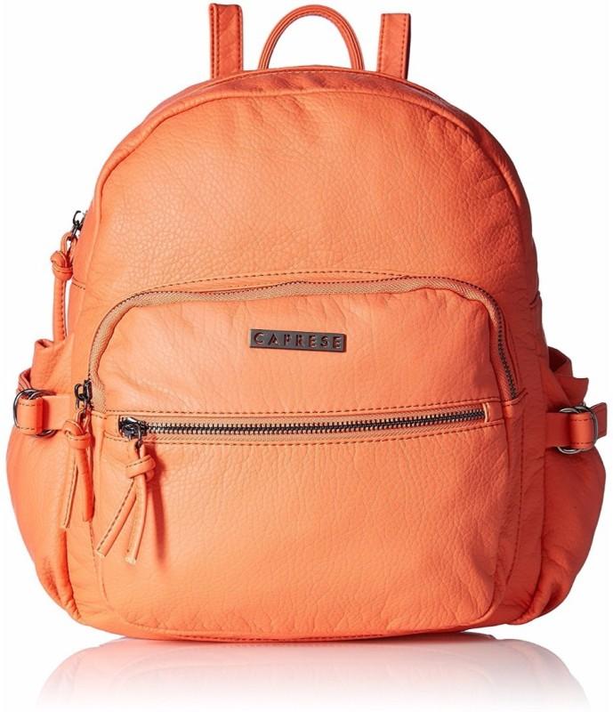 Caprese Liney Medium 5 L Backpack(Orange)