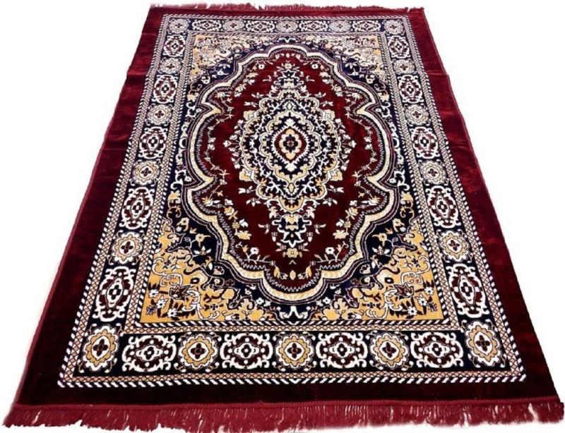 HOME BEST Multicolor Polyester Carpet(149 cm  X 209 cm)