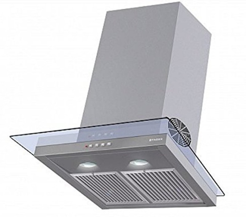 faber Glassy Hood 3d T2S2 LTW 60 (with free cuttlery set from Giftipedia) Wall Mounted Chimney(Stainless Steel 1095)