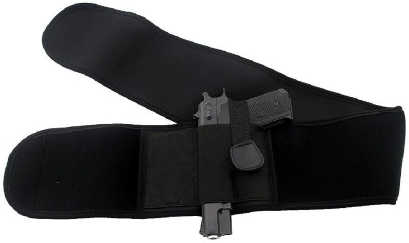 GW Gun Holster Concealed Carry Gun Holster Racquet Carry Case/Cover Free Size(Black)