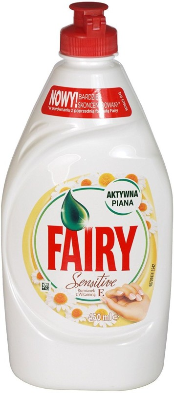 Fairy Sensitive With Chamomile And Vitamin E Dishwashing Detergent(450 ml)