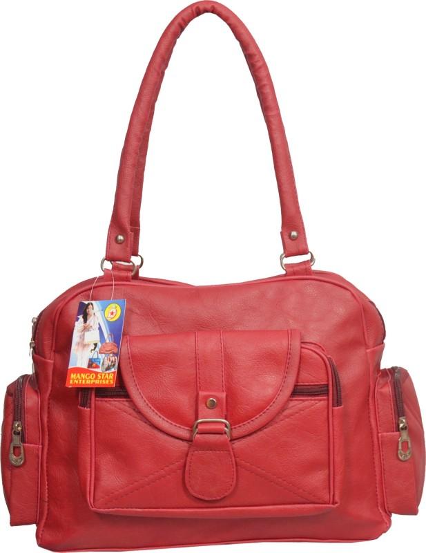 Maango Sitar Women Red Shoulder Bag