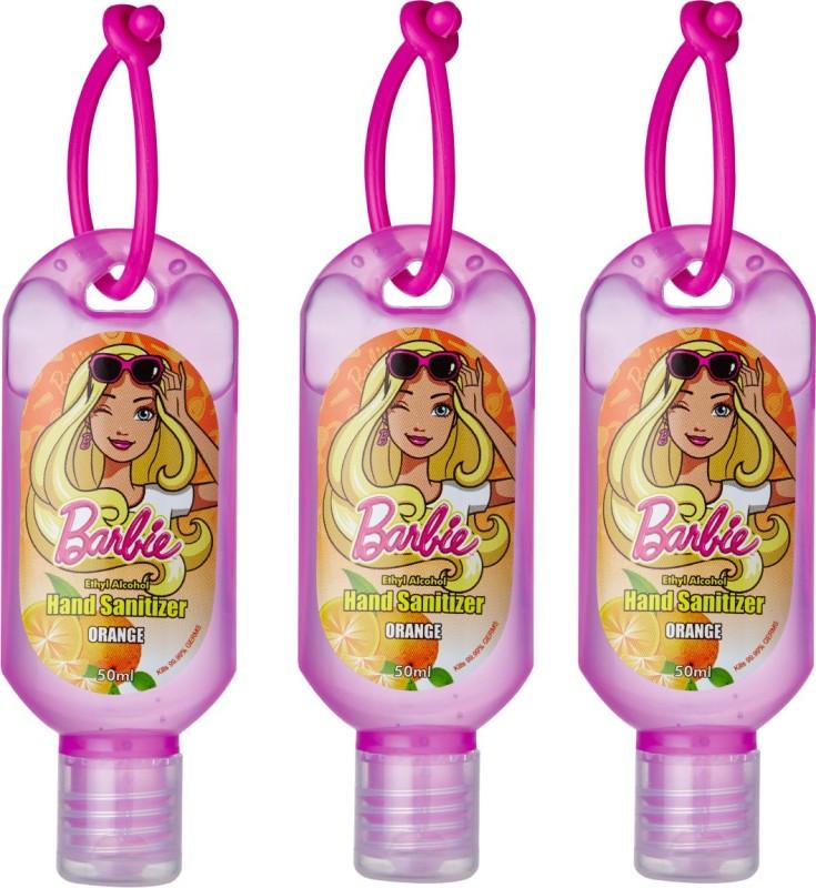 Barbie Hand Sanitizer - Orange Bottle(3 x 50 ml)