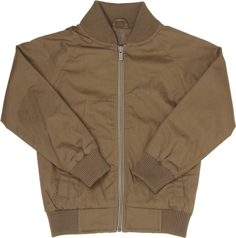Pepe Jeans Full Sleeve Solid Boys Jacket