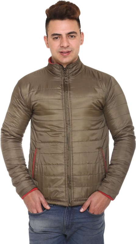 100 hands Full Sleeve Solid Men Jacket