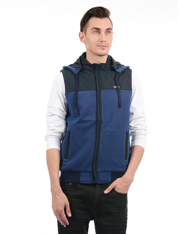 Monte Carlo Sleeveless Solid Men Jacket