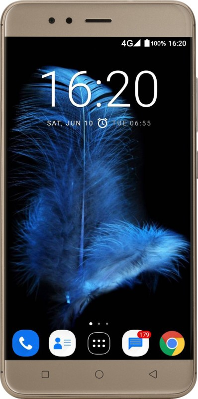 InFocus Turbo 5s (Platinum Gold, 32 GB)(3 GB RAM)