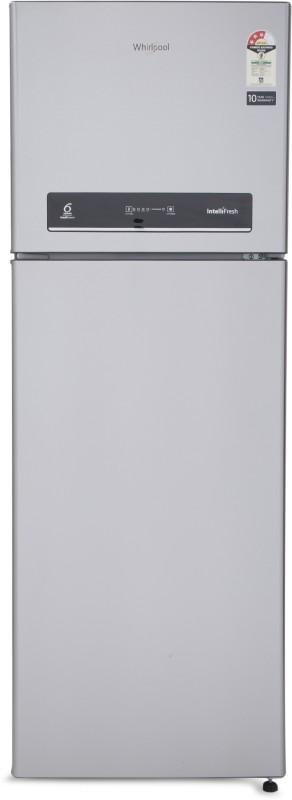 Whirlpool 360 L Frost Free Double Door 3 Star Refrigerator(Alpha Steel, IF 375 ELT 3S)