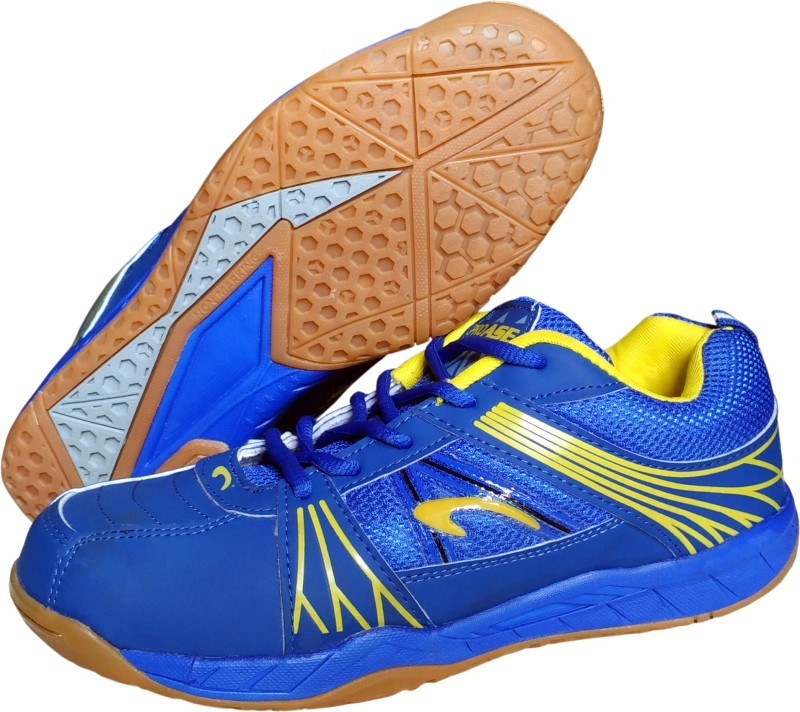 Proase BG 004 Non Marking - Blue Badminton Shoes For Men(Blue)