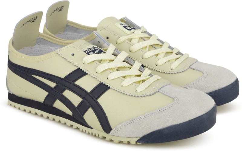 Asics OnitsukaTiger MEXICO 66 Running Shoes For Men(Beige)