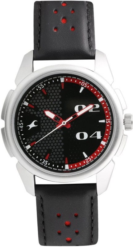 Fastrack 3124SL05 Loopholes Watch For Men