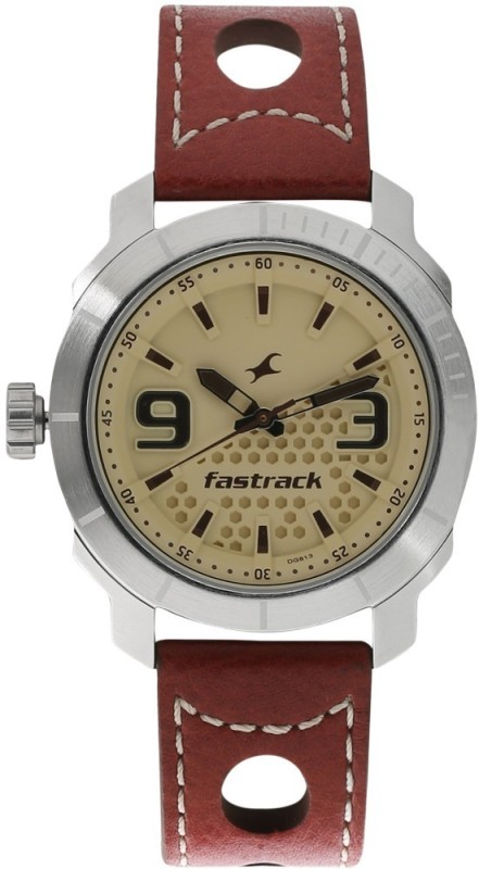 Fastrack 3168SL02 Loopholes Watch For Men