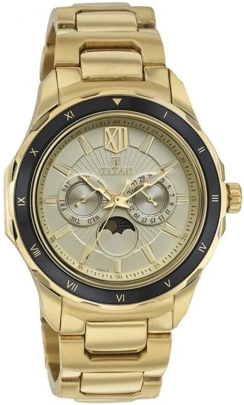 Titan 1688KM01 Analog Watch - For Men