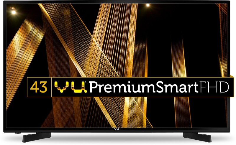 Vu 109cm (43 inch) Full HD LED Smart TV(43D6575)