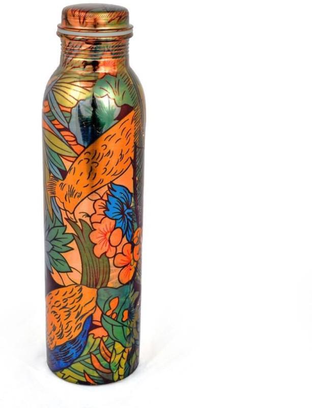 Artandcraftvilla Copper Water Bottle 900 ML 900 ml Bottle(Pack of 1, Multicolor)