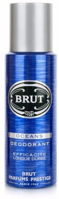 Brut Oceans Efficacite Longue Duree Deodorant Deodorant Spray - For Men(200 ml, Pack of 2)