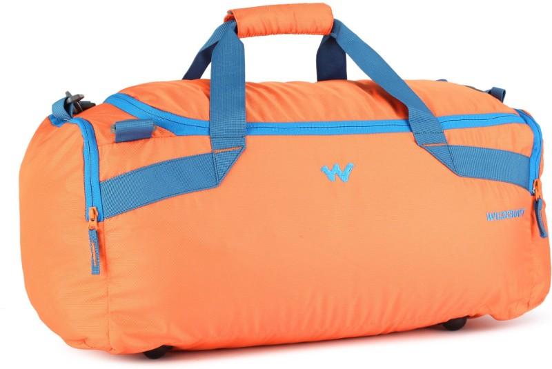 Wildcraft Transit M Travel Duffel Bag(Blue, Orange)