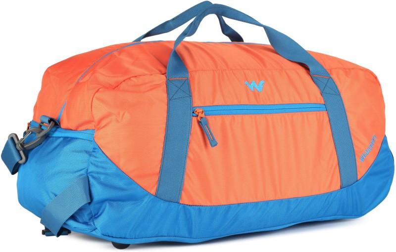 Wildcraft Rover 1 Travel Duffel Bag(Blue, Orange)