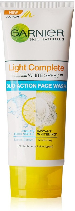 Garnier light complete duo action Face Wash(100 g)