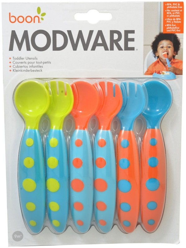 Boon Modware - Blue/Orange/Green - Food Grade Plastic(Multicolor)