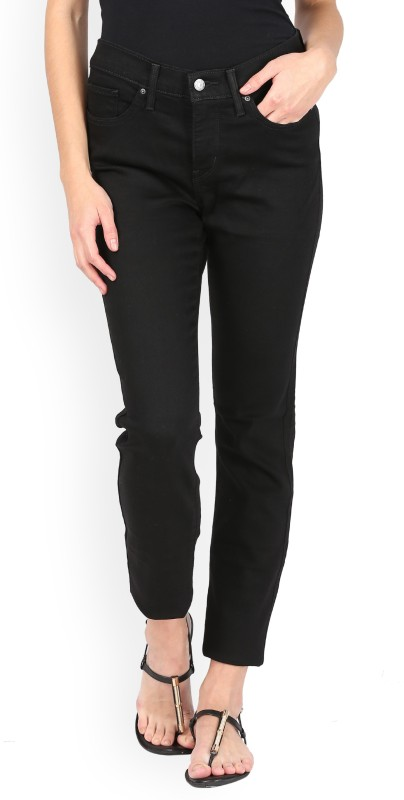 Levis Slim Women Black Jeans