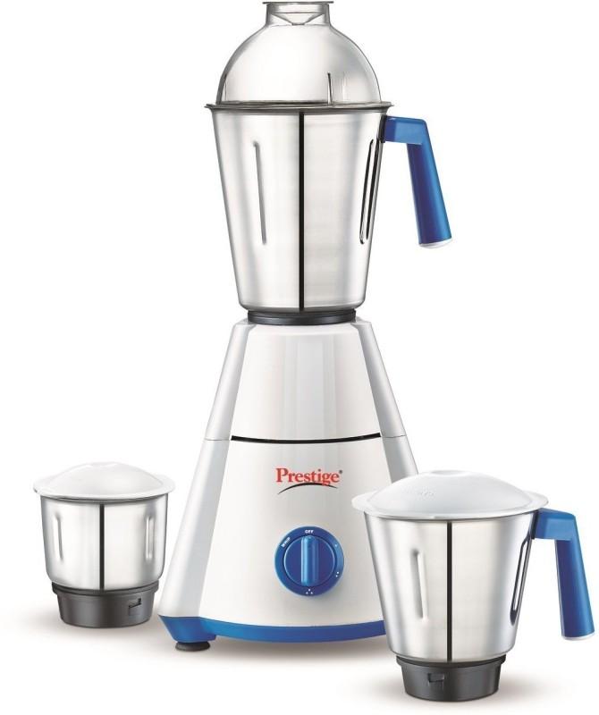 Prestige nakshatra Nakshatra 550w 550 W Mixer Grinder(white/blue, 3 Jars)
