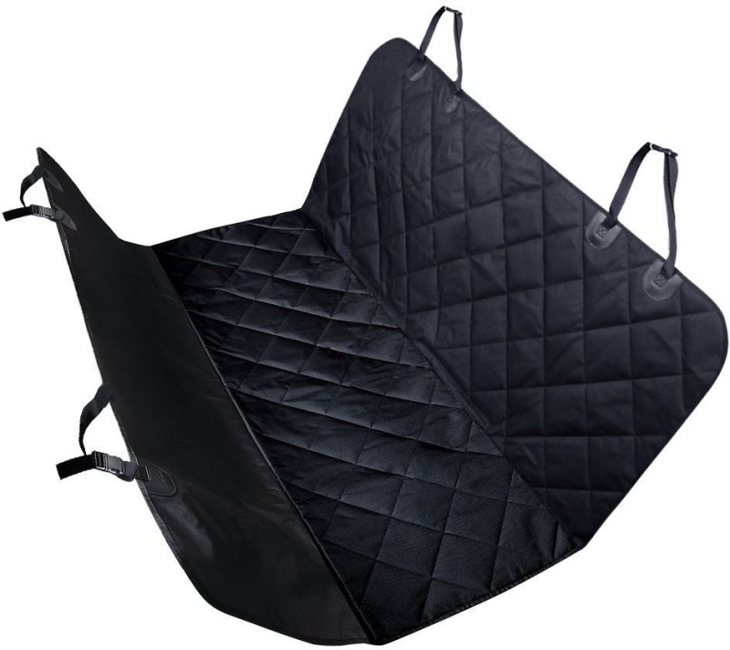 SRI Pet Seat Cover Car Seat Cover for Pets - Waterproof & Scratch Proof & Nonslip Backing & Hammock, Quilted, Padded, Durable Pet Seat Covers for Cars (Black) Bench Pet Seat Cover(Black Waterproof)