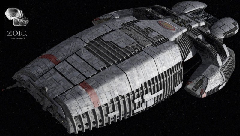 TV Show Battlestar Galactica (2003) Wallposter Paper Print(12 inch X 18 inch, Rolled)
