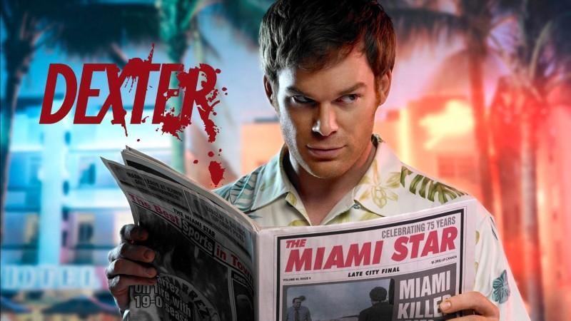 Wall Poster TV Show Dexter Michael C. Hall Dexter Morgan Paper Print(12 inch X 18 inch, Rolled)