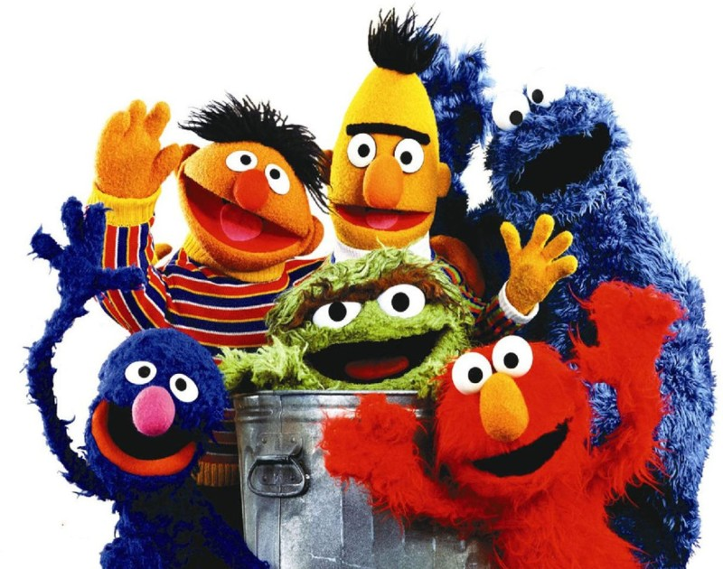 TV Show Sesame Street HD Wall Poster Paper Print(12 inch X 18 inch, Rolled)