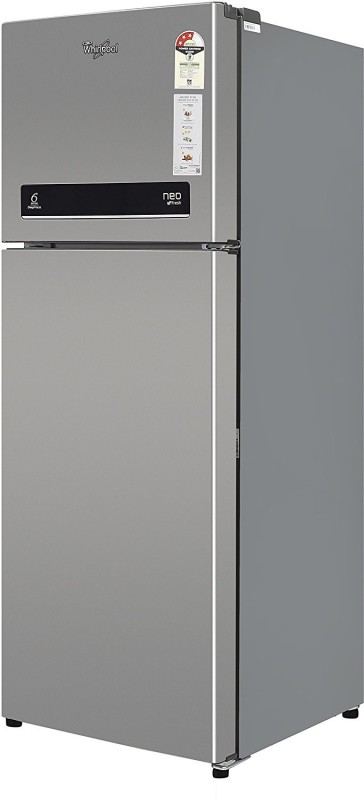 Whirlpool 265 L Frost Free Double Door 3 Star Refrigerator(Swiss Silver, NEO DF278 PRM 3S)